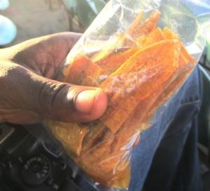 guyana plantain chip