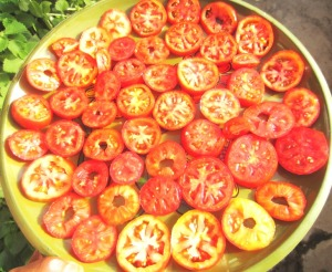 sundrying tomatoes