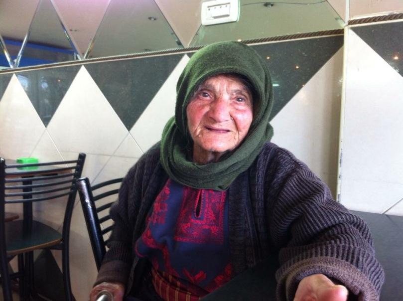 92 year old woman. Faris Khader