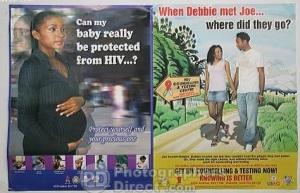 debbie n joe- hiv testing poster